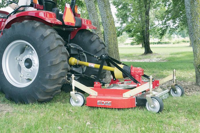 Yanmar Finish Mower : Compact tractor showcase equipment
