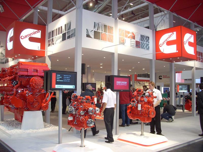Trade Show Booth Equipment : Compact equipment s bauma photo travelog