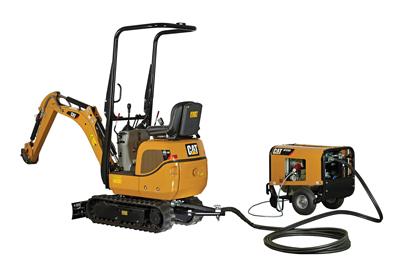 Cat 300.9D VPS Hybrid Excavator