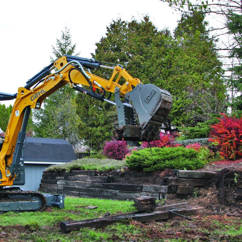 Thumb excavator (EDGE)