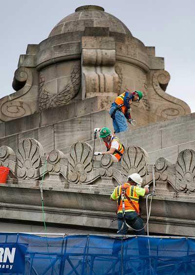 Western Specialty Contractors Restoring a Facade