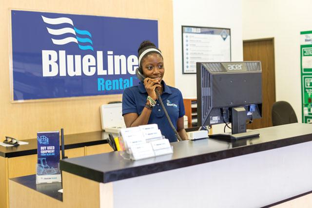 BlueLine Rental Desk