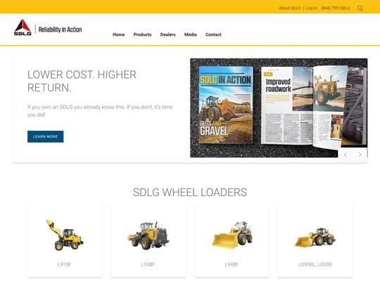 SDLG website
