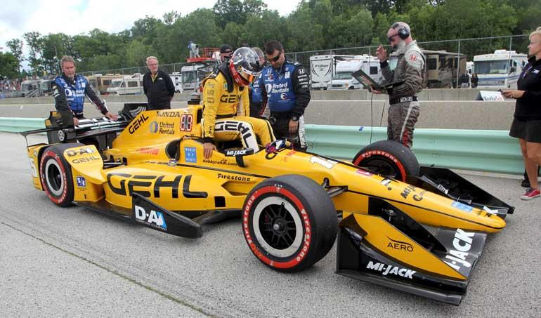 Gehl sponsors indy car