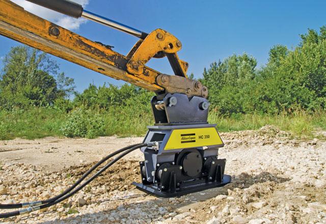 Atlas Copco's mini excavator compactor
