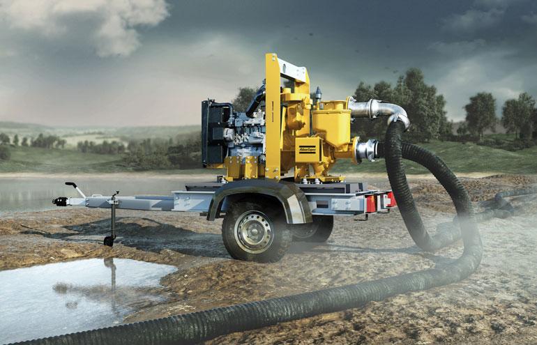 Atlas Copco PAS Dewatering Pump