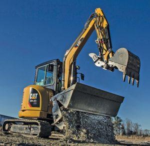 Caterpillar 304.5E2 XTC Mini Hydraulic Excavator