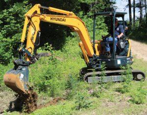 Hyundai R35Z-9A Excavator