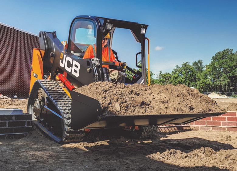 JCB compact track loader