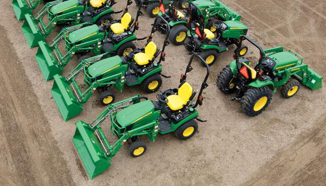 used John Deere tractors