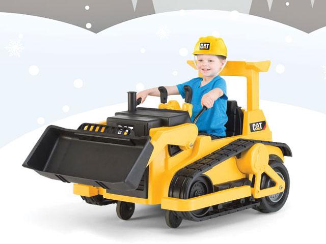 cat ride-on bulldozer