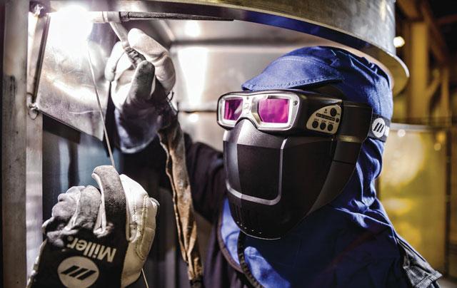 miller weld mask