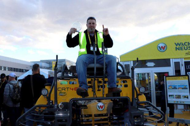 Wacker Neuson crowns new Trowel Challenge competition winner at World of Concrete