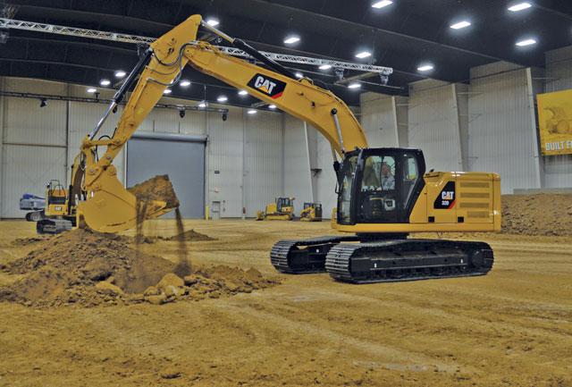 Cat's new 20-ton excavators