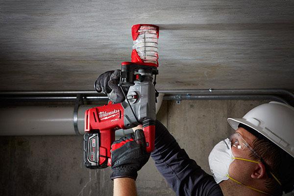 milwaukee tool dust trap