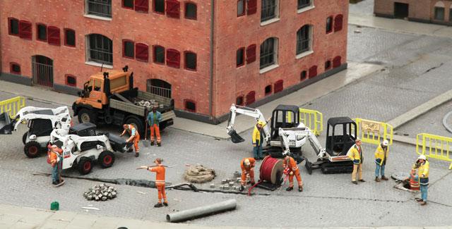 construction miniatures