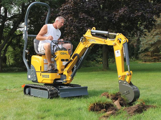 gehl excavator
