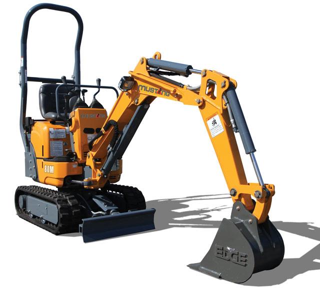 mustang excavator
