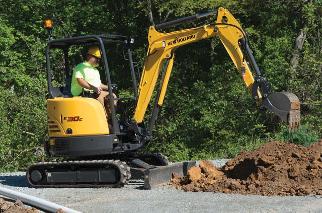 new holland excavator