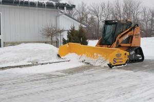 Arctic-Snow-track-loader-snow-push