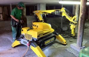 Brokk introduces next gen Brokk 100 remote-control demolition machine