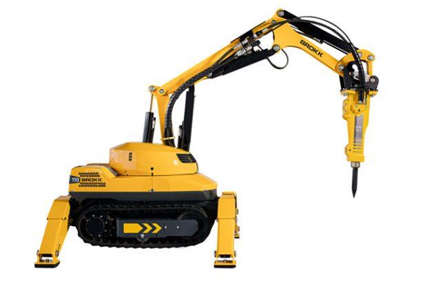 Details on the New Brokk 110 Remote-Controlled Demolition Machine