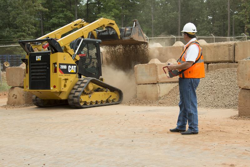 Skid Steer Controls : Control your skid steer or track loader via remote