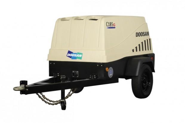 Doosan Portable Power donates air compressor/raises $7,500 at ICUEE auction