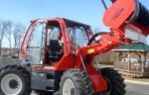 Fecon Launches RTF230 Rubber Tire Mulching Tractor