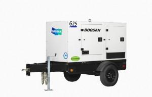 Doosan Portable Power Introduces Generators with Doosan Engines at Power-Gen 2015