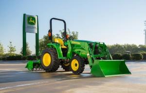 John Deere updates 3E Series compact utility tractor line