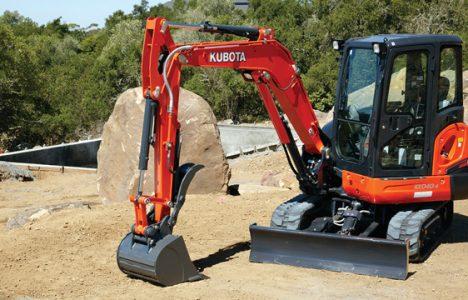 Kubota Excavators — 2016 Spec Guide