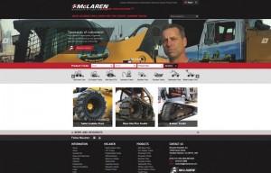 McLaren Industries launches new website