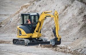 Innovative Iron Award: Komatsu America's PC55MR-5 Compact Excavator Goes Wireless