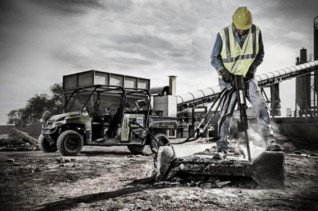 New Polaris Ranger Powers Hydraulic, Pneumatic, Electric and Welding Equipment