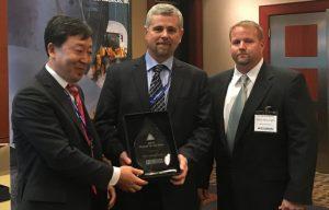 Hyundai Construction Equipment Americas Names Seven Top Dealers for 2016