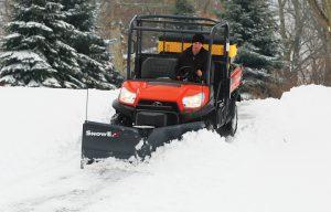 SnowEx Adds Versatile UTV V-Plow to Lineup