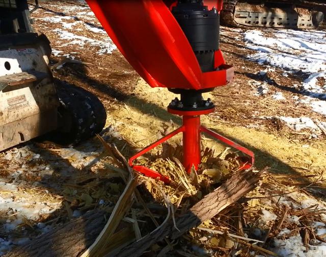 Fecon Introduces The Stumpex Stump Grinder Attachment For Skid