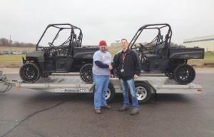 Polaris Industries Donates Equipment to Team Rubicon's Washington, Illinois Clean-up Effort