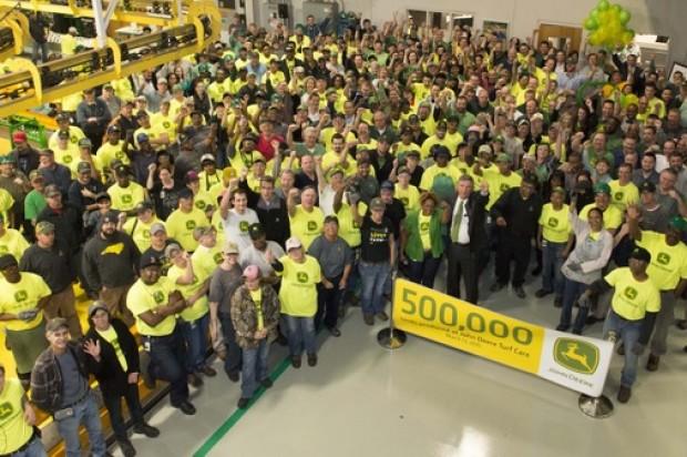 John Deere Turf Care Produces 500,000 product in North Carolina facility