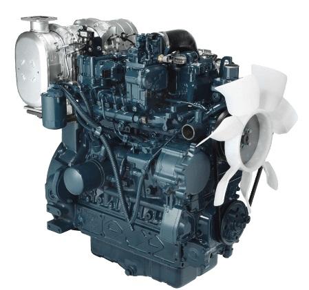 V3800CRT Kubota Engine