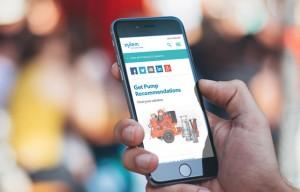 Xylem unveils new interactive dewatering web platform