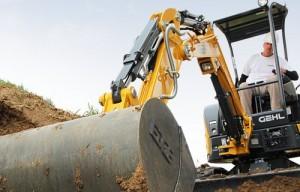 Gehl releases Z25 compact excavator