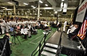 Honda Power Equipment Manufacturing Inc. Celebrates 30 Years in Swepsonville, N.C.