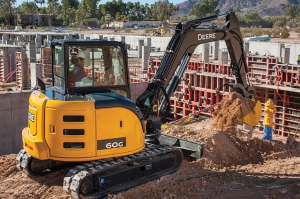 John Deere Compact Excavators — 2014 Spec Guide
