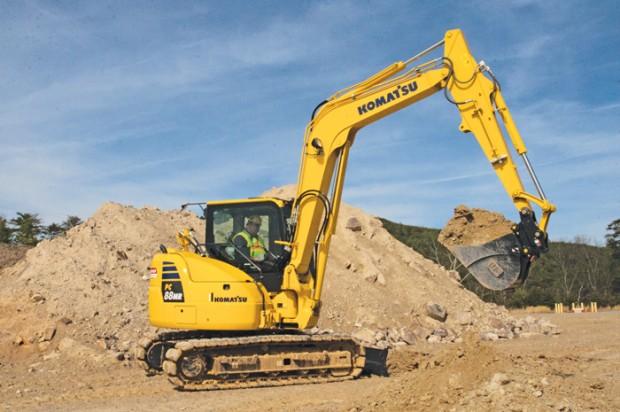 Komatsu Compact Excavators — 2014 Spec Guide