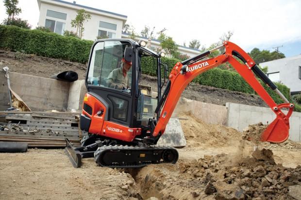 Kubota Compact Excavators — 2014 Spec Guide