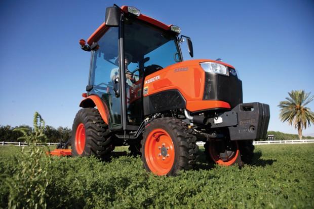 Kubota Compact Tractors — 2014 Spec Guide