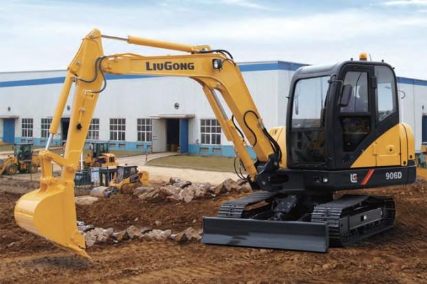 LiuGong Mini Excavators — 2014 Spec Guide