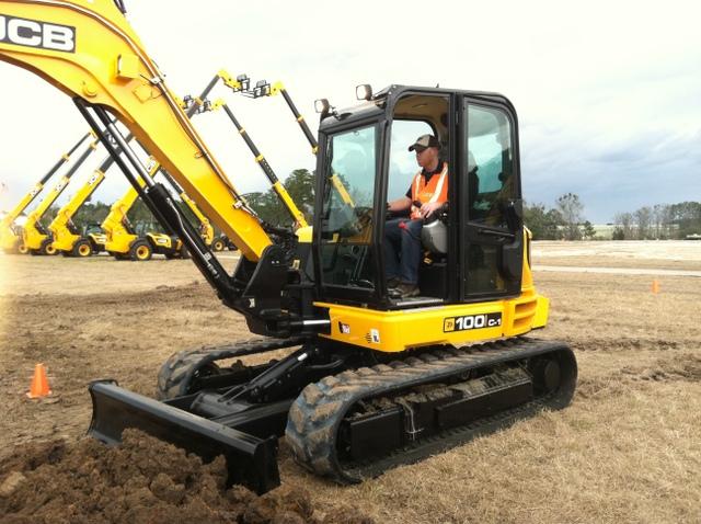 keith JCB compact excavator